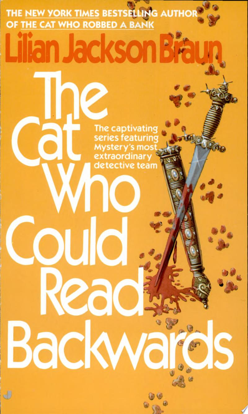 The Cat who Could Read Backwards image