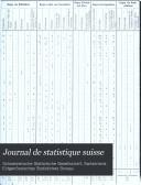 Journal de statistique suisse