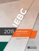 2015 International Existing Building Code Book