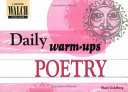 Daily Warm Ups  Poetry   Level I