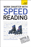 Work Smarter With Speed Reading  Teach Yourself