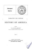 Narrative and Critical History of America