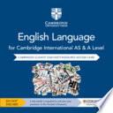 Cambridge International As and a Level English Language Cambridge Elevate Teacher's Resource Access Card