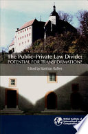 The Public Private Law Divide