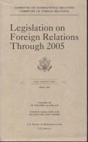Legislation on Foreign Relations Through 2005  V  1 B Book