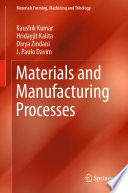 Materials and Manufacturing Processes Book