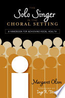 The Solo Singer in the Choral Setting Book
