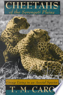 Cheetahs of the Serengeti Plains Book