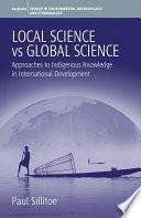 Local Science Vs Global Science