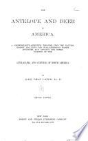 The Antelope and Deer of America Book