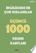 İngilizce'de En Çok Kullanılan Üçüncü 1000 Kelime Kartları