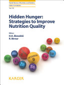 Hidden Hunger  Strategies to Improve Nutrition Quality
