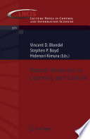Recent Advances in Learning and Control