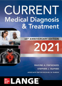 CURRENT Medical Diagnosis and Treatment 2021 Book