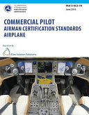 Commercial Pilot Airman Certification Standards Airplane Faa S Acs 7a