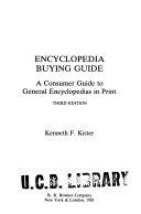 Encyclopedia Buying Guide