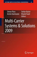 Multi-Carrier Systems & Solutions 2009