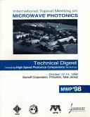 Microwave Photonics Book