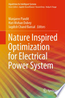 Nature Inspired Optimization for Electrical Power System