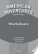 American Adventures, Elementary Worksheets