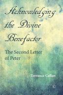 Acknowledging the Divine Benefactor