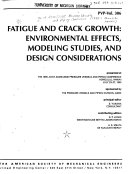 Fatigue and Crack Growth