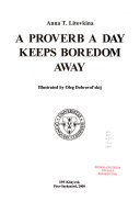 A Proverb a Day Keeps Boredom Away