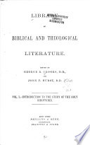 Library Of Biblical And Theological Literature