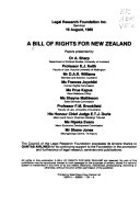 A Bill of Rights for New Zealand