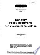 Monetary Policy Instruments for Developing Countries