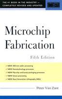 Microchip Fabrication 5th Ed
