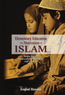 Elementary Education and Motivation in Islam ebook