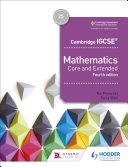 Pdf Cambridge IGCSE Mathematics Core and Extended 4th edition