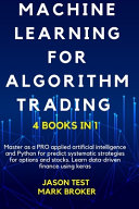 Machine Learning for Algorithm Trading
