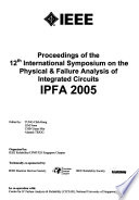 Proceedings of the ... International Symposium on the Physical & Failure Analysis of Integrated Circuits
