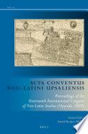 Read Online Acta Conventus Neo-Latini Upsaliensis For Free
