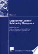 Kooperatives Customer Relationship Management