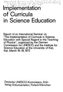 Implementation of Curricula in Science Education