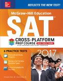 McGraw Hill Education SAT 2017 Cross Platform Prep Course