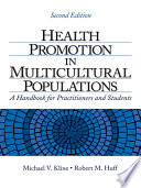 Health Promotion in Multicultural Populations Book