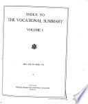 Vocational Summary