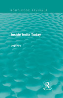 Inside India Today  Routledge Revivals