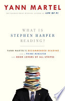 What Is Stephen Harper Reading