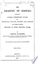 The Treasury Of History New Edition Book PDF