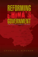 REFORMING CHINA'S GOVERNMENT