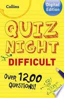 Collins Quiz Night (Difficult)