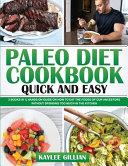 Paleo Diet Cookbook Quick and Easy