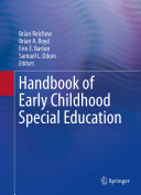 Handbook of Early Childhood Special Education [Pdf/ePub] eBook