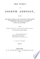 The Works of Joseph Addison: The Spectator