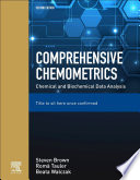 Comprehensive Chemometrics Book PDF